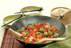 Stir-Fry Vegetables - Looking to make tonight's dinner a little more colorful? Pick of your favorite vegetables to create this tasty and quick recipe for stir-fry vegetables. TIP: Substitute reduced-sodium soy sauce for a lower-sodium version. Davita Recipes, Kidney Recipes, Stir Fry Recipes, Diet Recipes, Vegetarian Recipes, Cooking Recipes, Healthy Recipes, Kidney Foods, Kidney Health