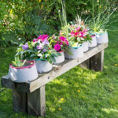 Minivijver of plantenbak: het kan allebei! #Intratuin #Vlijtigliesje #minivijver #zomer