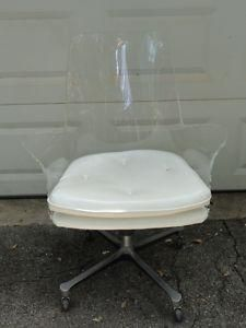 lucite office chair. Lucite Swivel Chair For My Office I