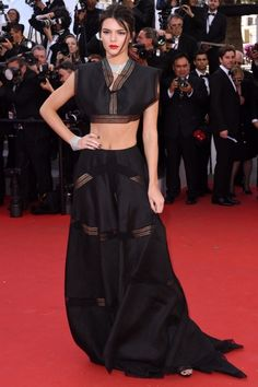 Kendall Jenner Wows In Alaïa At Cannes, 2015
