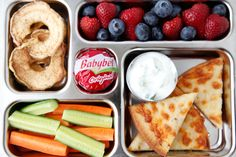 Cucumber Yogurt Dip from Weelicious + other school lunch ideas!
