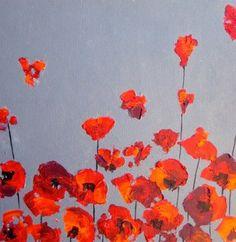 Red Cali beauties by Devika Keskar - Vango Original Art