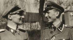 ■ Christian Frederik von Schalburg junto a Sören Kam