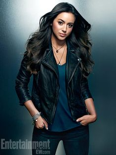 Agents of S.H.I.E.L.D Chloe Bennet as Skye - Hacker - ''Most hackers are portrayed as weird outcasts who only know how to deal with electronics. She's a computer hacker who is not socially awkward. She's just as much of an actress as I am, she knows how to get her way.''
