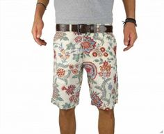 French mens Floral Short Lifestyle 015