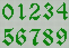 Thrilling Designing Your Own Cross Stitch Embroidery Patterns Ideas. Exhilarating Designing Your Own Cross Stitch Embroidery Patterns Ideas. Crochet Alphabet, Crochet Letters, Alphabet Charts, Cross Stitch Numbers, Cross Stitch Letters, Etsy Embroidery, Embroidery Stitches Tutorial, Embroidery Patterns, Loom Patterns