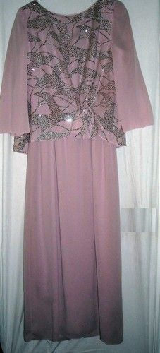 "Soft Pink Dress with Silver Sparkles Fits to 39""Bust Size Medium Free Shipping  Price:US $12.99"