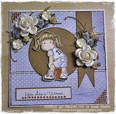 Card  Magnolia Stamps