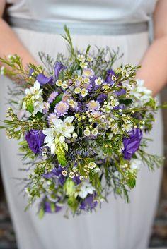 A gorgeous bridal bouquet