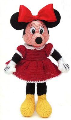 Disney Minne Mouse Instant Digital Crochet Pattern