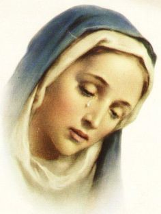She is a mother crying when she sees her children threatened by a spiritual or physical evil. - Pope John Paul II