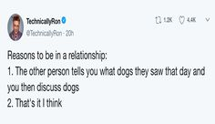 Twitter Users Have Found Out That The Key to a Healthy Relationship is All About Dogs