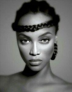 Tyra Banks. Celebrities. Model.