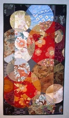 Overlapping Circles quilt: a class by Reynola Pakusich