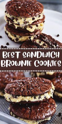 BEST SANDWICH BROWNIE COOKIES