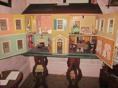 Dollhouse that was setup for Children's day