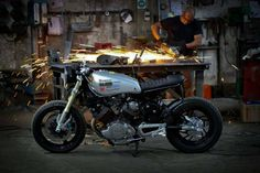Yamaha XV 750 Cafe Racer by Diogo Oliveira #motorcycles #caferacer #motos | caferacerpasion.com