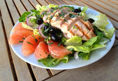 Grilled Chicken, Tarragon & Grapefruit Salad Recipe