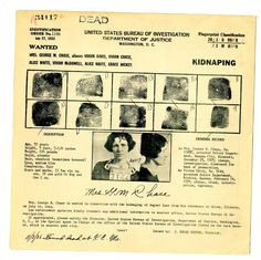 """Article: """"The Rise and Fall of Vivian Davis, Bank Robber"""" (1920s/1930s)"""