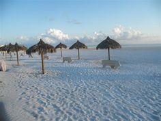 Resident's beach on Marco Island Florida