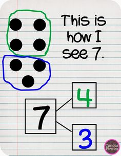 Part Part Whole activities for numbers 3-10; differentiated and visual
