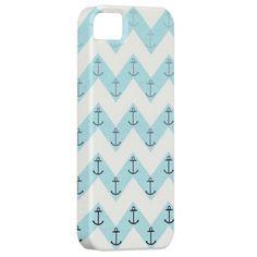 Chevron anchor fade iPhone 5 cases