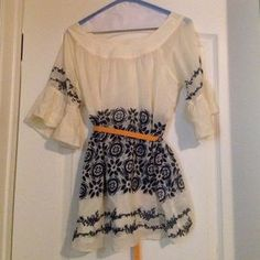 I just discovered this while shopping on Poshmark: anthropologie blouse. Check it out! Price: $35 Size: L, listed by carolineanthony