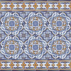 Portuguese Ceramic Tile | ... Tiles from Portugal - Traditional decorative hand painted ceramic
