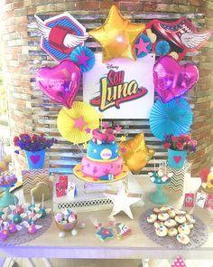 Soy Luna Party #soylunaparty #fiestasoyluna #girlyfavoritetheme #detalleparatusfiestas