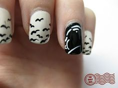 Alfred Hitchcock nails!  Not necessarily my style but I would do this in a minute!!