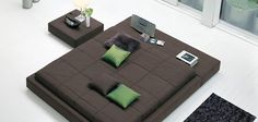 Le Squaring Bed par Bonaldo - Moderne House