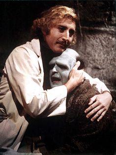 Gene Wilder with Peter Boyle in Young Frankenstein