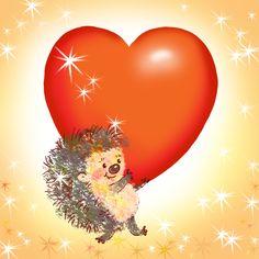 Graphic artist Irina Y. Happy Hedgehog, Hedgehog Art, Smileys, Hedgehog Tattoo, Envelope Art, All Things Cute, Vintage Postcards, Clipart, Cute Drawings