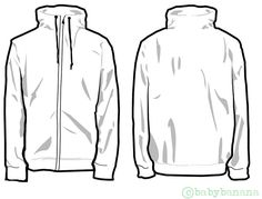 For Those Who Want To Try Their Luck In Designing Hope It Helps Jacket Template D