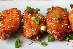 Baked Honey Sriracha Chicken Wings