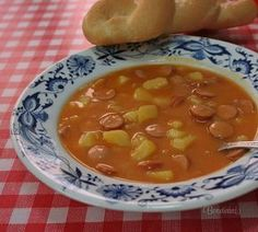 Frankfurtská polievka Quick Recipes, Gourmet Recipes, Soup Recipes, Vegetarian Recipes, Cooking Recipes, Healthy Recipes, Modern Food, Good Food, Yummy Food