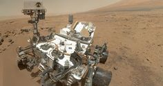 Mars rover Curiosity has sent a self-portrait, the first of which was seen in August. Using the Mars Hand Lens Imager (MAHLI), Curiosity captured a set of 55 high-resolution images and stitched them to form the self-portrait.
