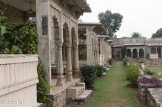 Deo Bargh, once a summer palace, now a hotel. we were allowed to roam the gardens, including the familiy mausoleums there - spectacularly beautiful. Summer Palace, Agra, Gardens, Tours, India, Beautiful, Goa India, Outdoor Gardens, Garden Types