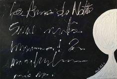 Anima della notte, Opera tecnica mista Chalkboard Quotes, Art Quotes, Opera, Celestial, Opera House