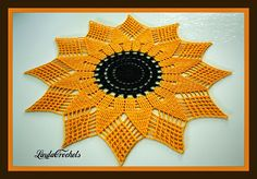 Sunflower Doilies