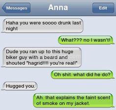 Drunk Text