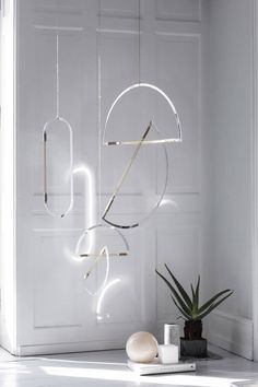 Designed in solitude, Elkeland's contemplative Mirror Mobiles bring the ethereal into your home...