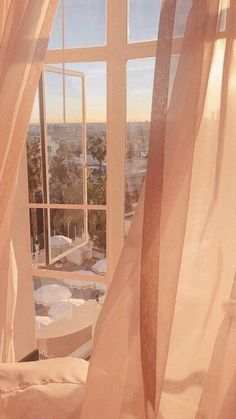 peach aesthetic vintage Peach tone photo of an open window looking out to a beautiful scene. Yellow Aesthetic Pastel, Peach Aesthetic, Aesthetic Rooms, Aesthetic Vintage, 80s Aesthetic, Korean Aesthetic, Aesthetic Beauty, Summer Aesthetic, Aesthetic Clothes