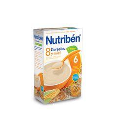Nutribén 8 cereales y miel 4 frutas