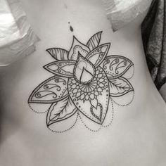 lotus simple tattoo - Google Search