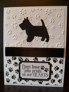 Items similar to Handmade Scottie Sympathy Card, Scottish Terrier Sympathy Card, Scottish Terrier Condolence Card, Scottie Memorial, Scottish Terrier Gift on Etsy Pet Sympathy Cards, Sympathy Gifts, Handmade Sympathy Cards, Dog Cards Handmade, Scottish Terrier, Schnauzer, Cat Cards, Cards Diy, Animal Cards