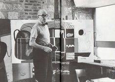kandinsky in his studio