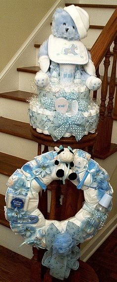 Got Milk? Cake with matching wreath