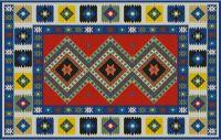 Gallery.ru / Фото #1 - Anchor Kilim Carpet - azteca