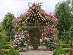 magnificent rose arbor http://gazebokings.com/luxury-metal-framed-garden-party-gazebos/